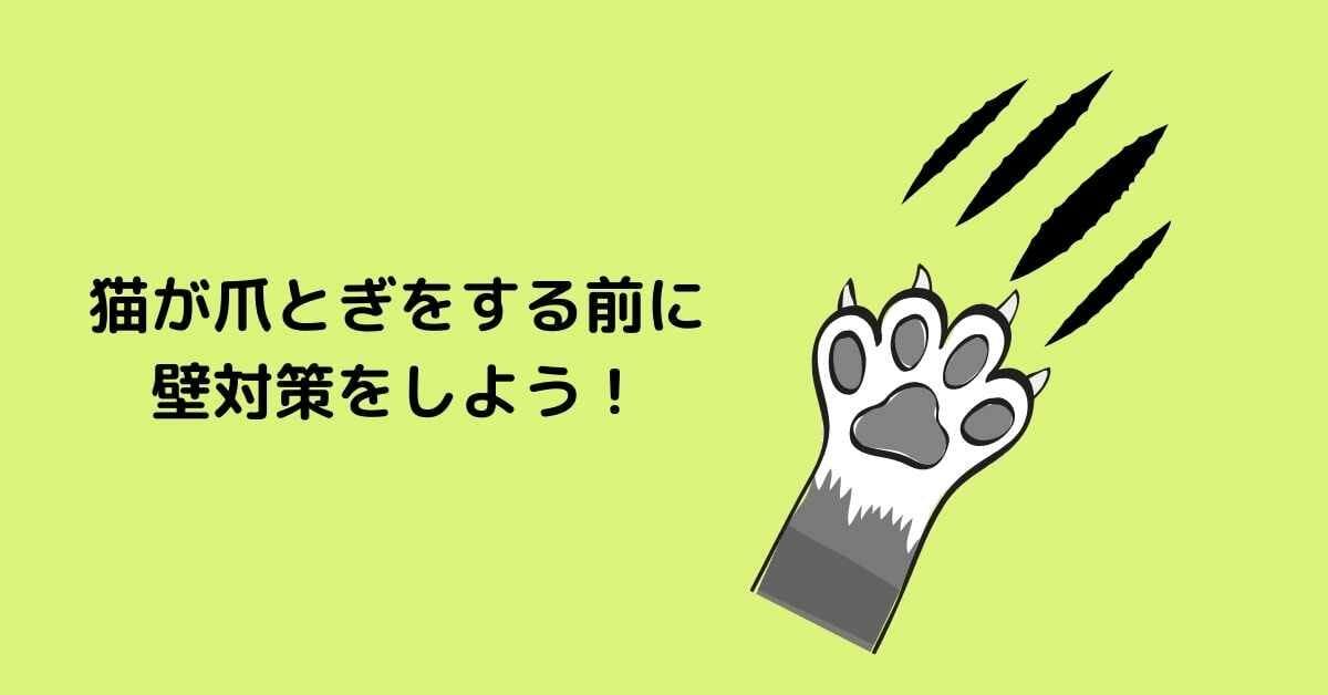 猫 爪とぎ 壁