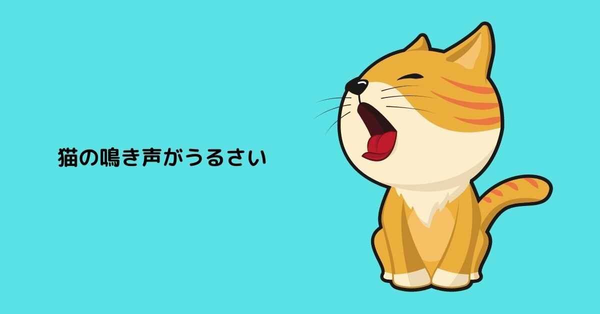 猫 鳴き声